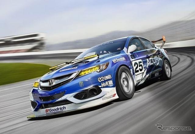 アキュラ ILX 改良新型のレーシングカー