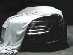 【ニューヨークモーターショー15】キャデラックの新フラッグシップ、CT6 …表情見えた(レスポンス)の画像