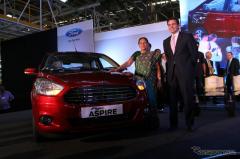 フォード、インドで フィーゴ・アスパイア 発表…小型セダン(レスポンス)の画像