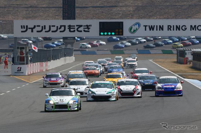 スーパー耐久開幕戦 決勝レース《撮影 益田和久》