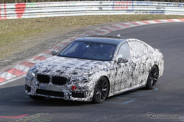 BMW 7シリーズ スクープ 写真《APOLLO NEWS SERVICE》