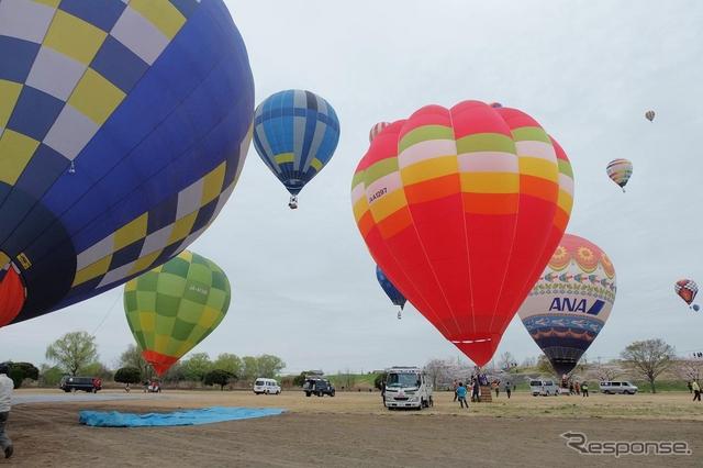 2015熱気球ホンダグランプリ(4日のようす)《撮影 井元康一郎》