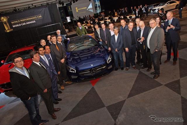 メルセデス-AMG GT(ニューヨークモーターショー15)