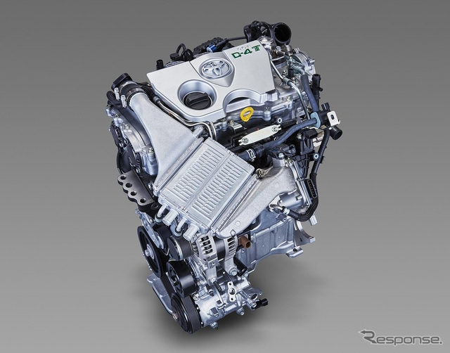 トヨタ 1.2リットル直噴ターボエンジン「8NR-FTS」