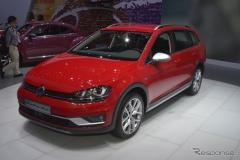【ニューヨークモーターショー15】VW ゴルフ・ヴァリアント 新型に「オールトラック」…米国投入が決定(レスポンス)の画像