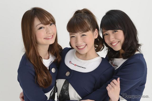 第10期クレインズ(左から安藤麻貴さん、はるまさん、湯浅あきなさん)