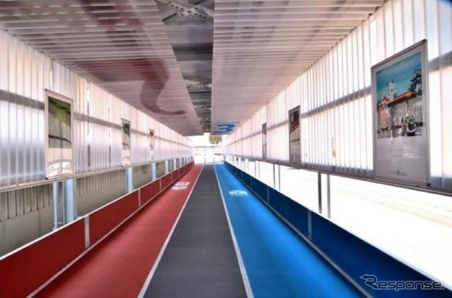 成田空港 第3旅客ターミナルへのアクセス通路《資料 成田国際空港》