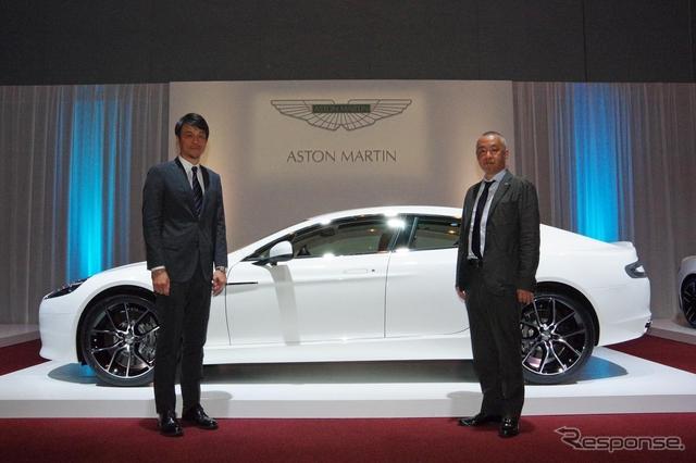 アストンマーティン、九州初上陸…高級車需要高まる福岡にショールーム《撮影 宮崎壮人》