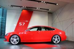 【アウディ A7スポーツバック 新型発表】クワトロとデザイン、広いラゲッジが強み(レスポンス)の画像