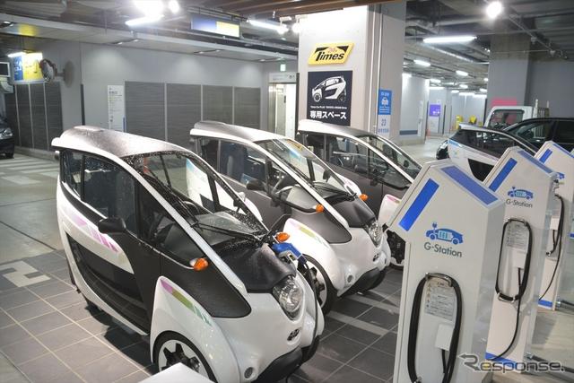 タイムズカープラス i-ROADステーション(東京都千代田区・有楽町イトシア)《提供 タイムズカープラス》