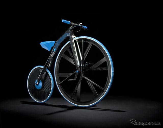 BASFの素材を使った電動自転車「Concept 1865」