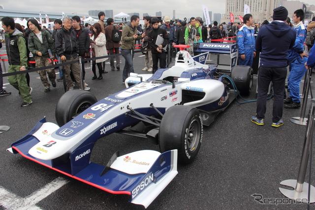 モータースポーツジャパン2015の様子《撮影 吉田知弘》