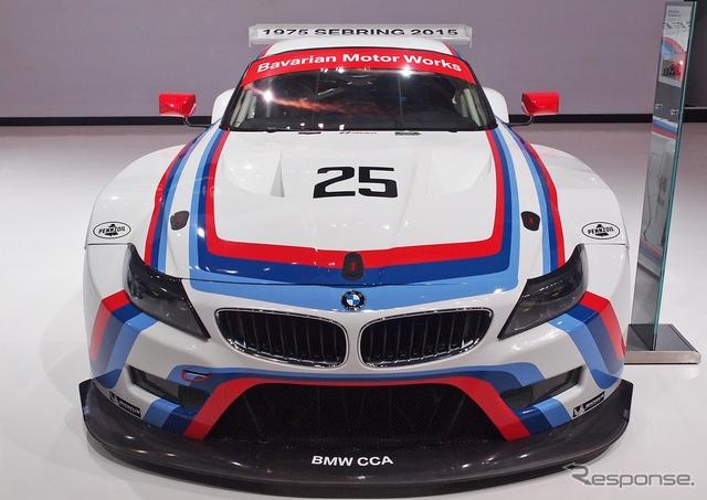BMW Z4 GTLM(ニューヨークモーターショー15)