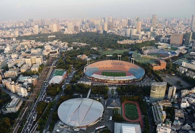2020年、オリンピックの舞台となる東京《写真 Getty Images》