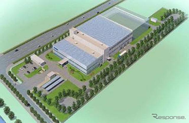 愛信(南通)汽車技術中心有限公司 新建屋