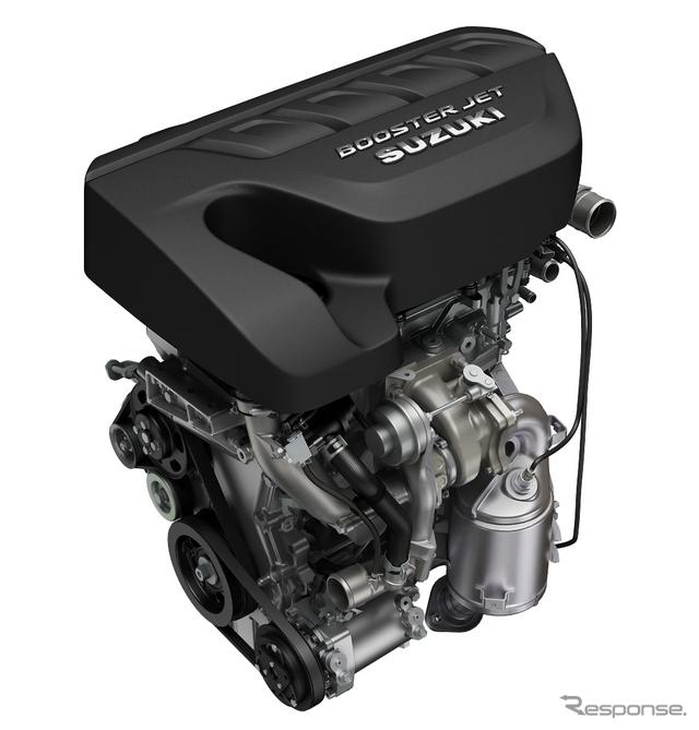スズキ 1.4リッター直噴ターボガソリンエンジン「ブースタージェット」