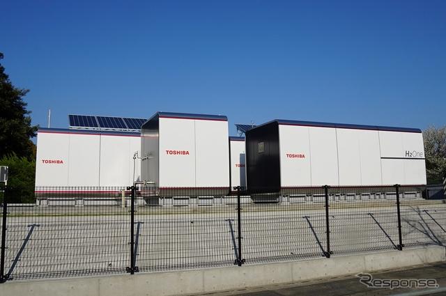水素を用いた自立型エネルギー供給システム「H2One」