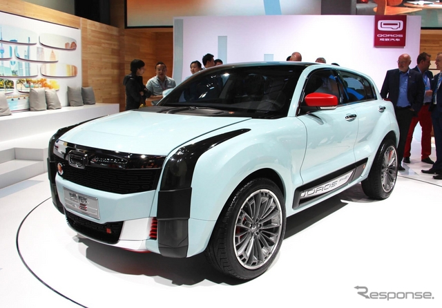 クオロス 2 SUV PHEV(上海モーターショー15)《撮影 吉田瑶子》