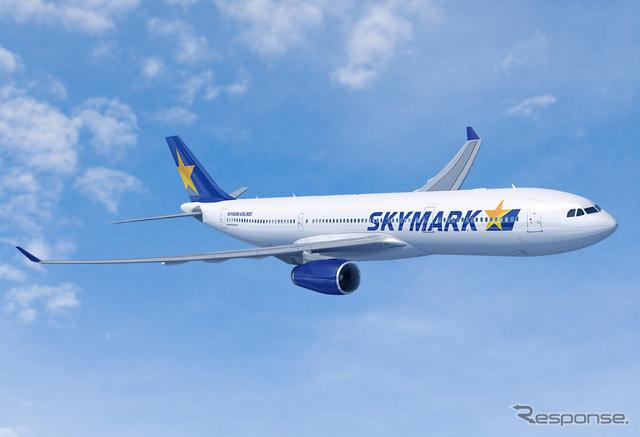 スカイマークA330-300(参考画像)《写真提供:Airbus》