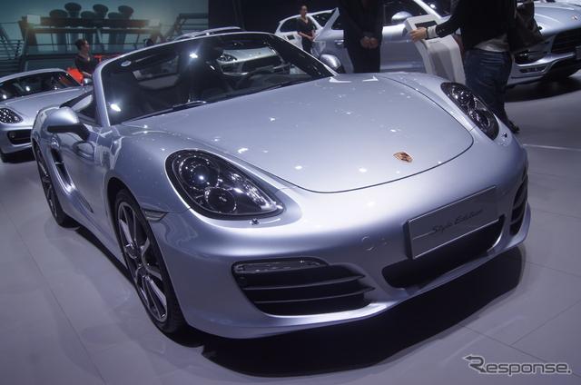 【上海モーターショー15】ポルシェ ボクスター にも「スタイルエディション」…充実の装備