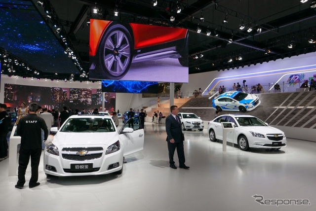 GM シボレー(上海モーターショー15)《撮影 三浦和也》