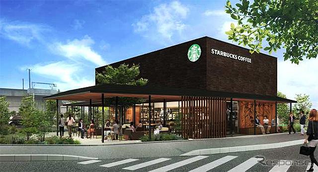 鳥取県初となる『スターバックス コーヒー シャミネ鳥取店』、5月23日にオープン《スターバックス コーヒー ジャパン》
