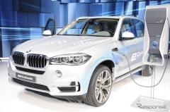 【上海モーターショー15】BMW 初の市販PHV、 X5 に設定 …2.0Lで4.0L級の性能(レスポンス)の画像