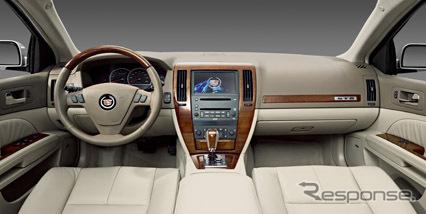 マグナの自動車内装事業が手がけたキャデラックの内装(参考画像)