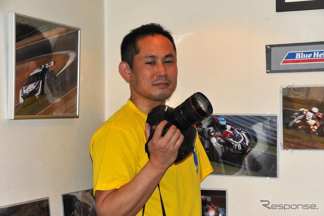 桑嶋敏 アマチュアレースを支える片腕のカメラマン《撮影 中島みなみ》