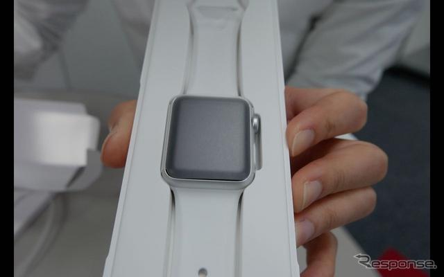 レスポンス編集部にApple Watchが到着