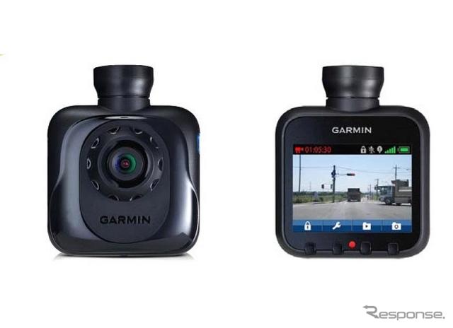 ガーミンGDR45J(右:ディスプレイ画面イメージ)
