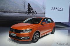 【上海モーターショー15】中国で大ヒットの VW サンタナ にハッチバックモデル登場(レスポンス)の画像