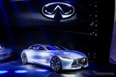【上海モーターショー15】インフィニティ、Q80 を中国初公開…550hpハイブリッド(レスポンス)の画像