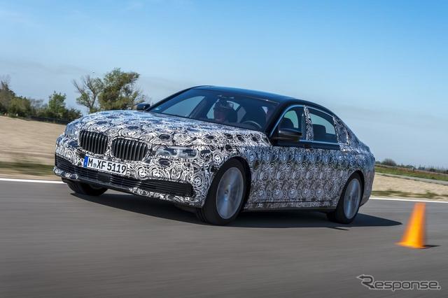 次期 BMW 7シリーズ の開発プロトタイプ車