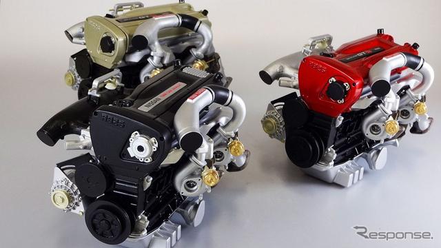 RB26DETTエンジン 6分の1スケールモデル