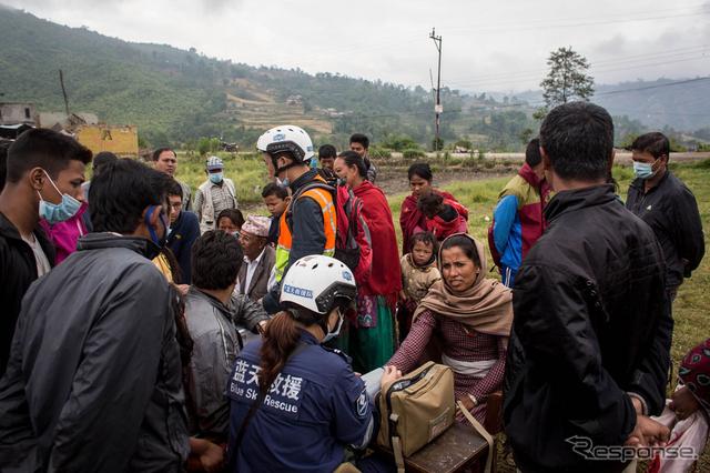 ネパール大地震《画像 Getty Images》