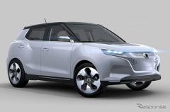 サンヨン の新型SUV、チボリ…PHVコンセプトを初公開(レスポンス)の画像