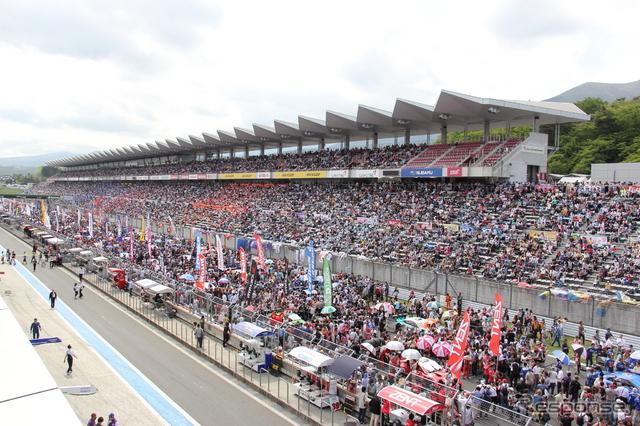 2日間で9万1500人が来場したSUPE GT第2戦《撮影 吉田知弘》