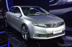【上海モーターショー15】ボルボの新プラットフォームを採用するプレミアムセダン登場…吉利汽車(レスポンス)の画像