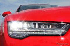 【アウディ A7スポーツバック 改良新型】フラッグシップに次いで採用した「マトリクスヘッドライト」(レスポンス)の画像