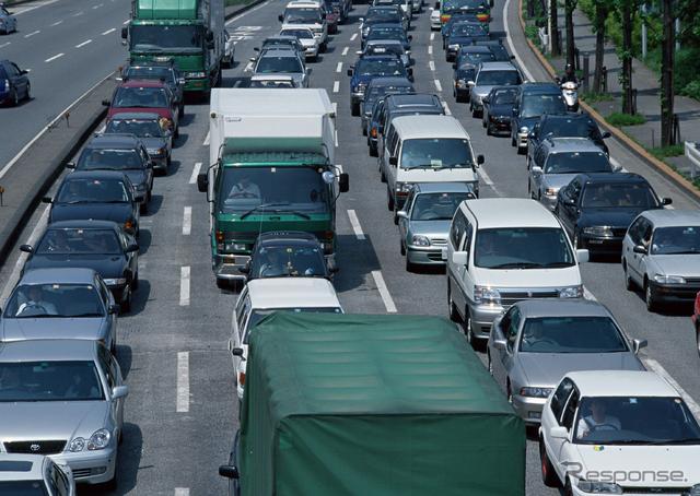 渋滞(イメージ)