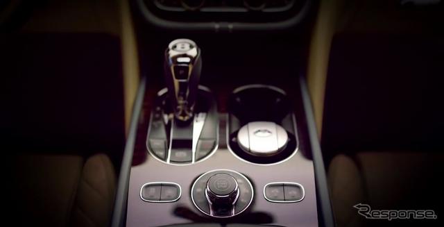 ベントレー の新型SUV、ベンテイガのインテリア