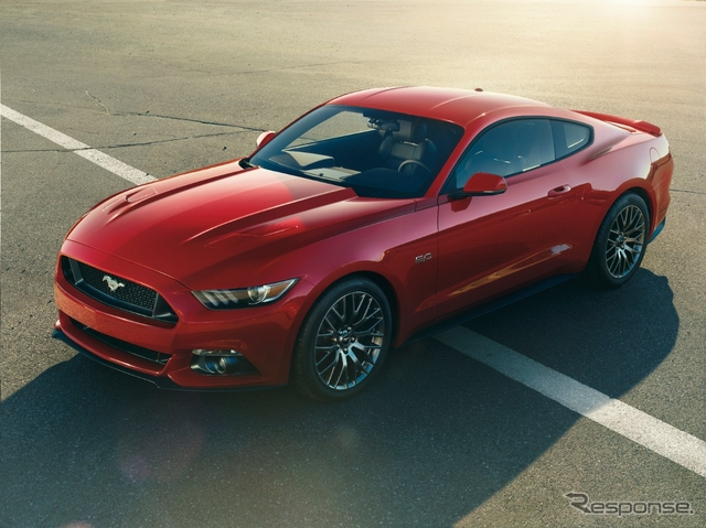 新型フォード マスタング