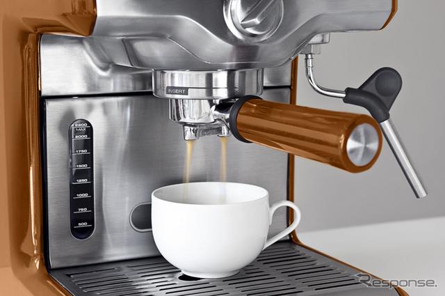 ルミナロイヤルはコーヒーメーカーの外装デザインにも適している