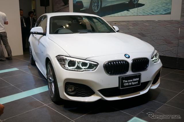 BMW 1シリーズ《撮影 関 航介》