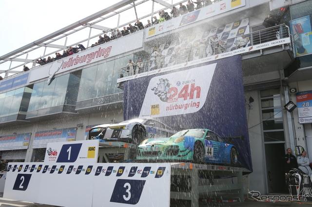 ニュルブルクリンク24時間レース 2015《撮影 益田和久》