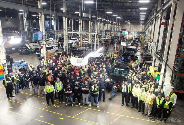 累計生産10万台を達成したフォード ポリス・インターセプター
