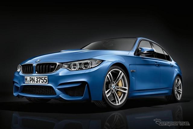 BMW M3 セダン 改良新型
