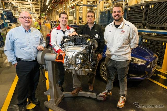 フォードモーターの英エンジン工場
