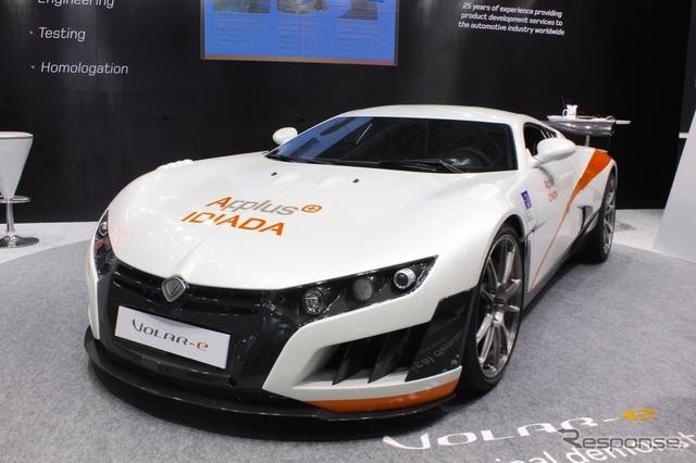 イディアダ社が開発したEVスーパースポーツ・コンセプト「ヴォラーレ」